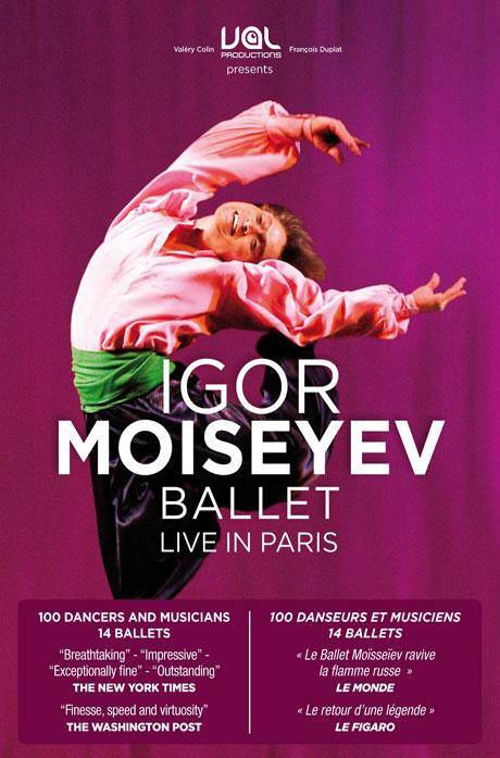IGOR MOISEYEV BALLET: LIVE IN PARIS [이고르 모이세예프 발레단 파리 공연]