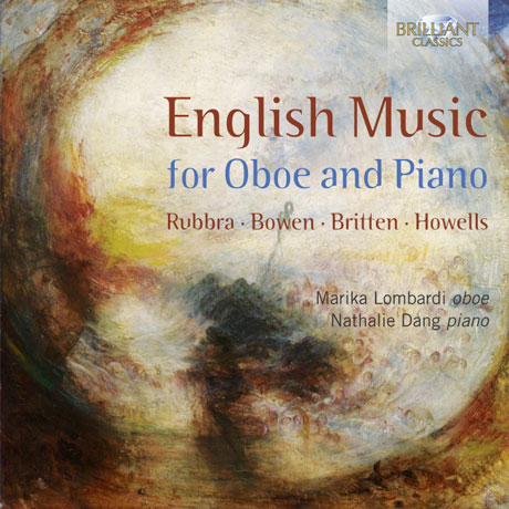 ENGLISH MUSIC FOR OBOE AND PIANO/ MARIKA LOMBARDI, NATHALIE DANG [오보에와 피아노를 위한 영국 음악: 루브라, 브리튼 등의 작품]