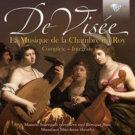 LA MUSIQUE DE LA CHAMBRE DU ROY COMPLETE/ MANUEL STAROPOLI, MASSIMO MARCHESE [비세: 루이 14세를 위한 궁정 음악 작품집 - 스타로폴리 & 마르케세]