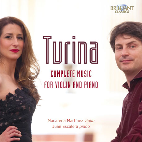 COMPLETE MUSIC FOR VIOLIN AND PIANO/ MACARENA MARTINEZ, JUAN ESCALERA [투리나: 바이올린과 피아노를 위한 작품 전곡집 - 마르티네즈 & 에스칼레라]