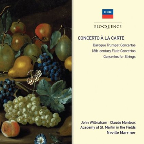 CONCERTO A LA CARTE/ NEVILLE MARRINER