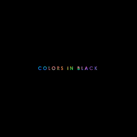 COLORS IN BLACK [정규 8집]