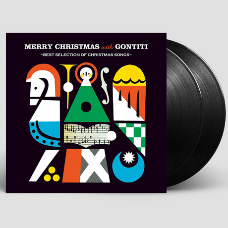 MERRY CHRISTMAS WITH GONTIT: BEST SELECTION OF CHRISTMAS SONGS [일본 레코드스토어 데이 한정반] [45RPM LP]