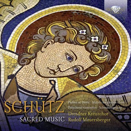 SACRED MUSIC/ DRESDNER KREUZCHOR, RUDOLF MAUERSBERGER [쉬츠: 종교음악집]