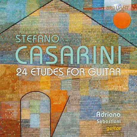 24 ETUDES FOR GUITAR/ ADRIANO SEBASTIANI [카사리니: 24개의 기타 연습곡 - 아드리아노 세바스치아니]