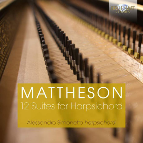 12 SUITES FOR HARPSICHORD/ ALESSANDRO SIMONETTO [마테존: 하프시코드를 위한 12개의 모음곡]
