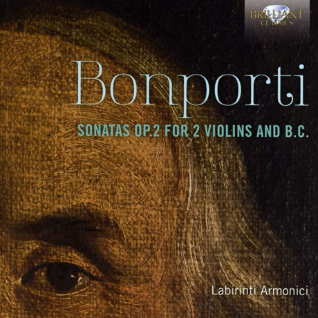 SONATAS OP.2 FOR 2 VIOLINS AND B.C./ LABIRINTI ARMONICI [본포르티: 두 대의 바이올린과 통주저음을 위한 소나타]
