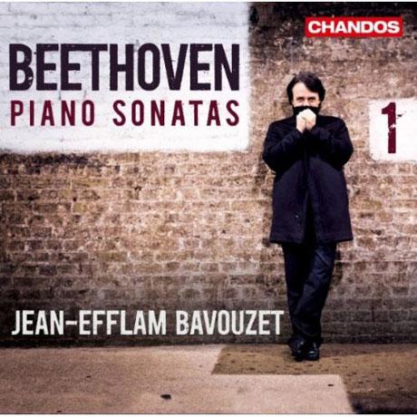 PIANO SONATAS VOL.1/ JEAN-EFFLAM BAVOUZET [장-에플람 바부제: 베토벤 피아노 소나타 1집]