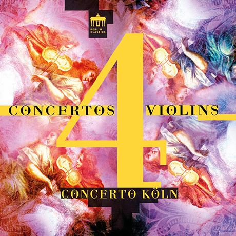 CONCERTOS 4 VIOLINS/ CONCERTO KOLN [비발디, 발렌티니, 로카텔리: 네 대의 바이올린을 위한 협주곡들 - 콘체르토 쾰른]