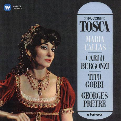 PUCCINI: TOSCA/ GEORGES PRETRE [CALLAS REMASTERED 2014] [마리아 칼라스: 푸치니 토스카]