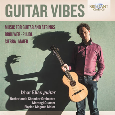 GUITAR VIBES: MUSIC FOR GUITAR AND STRINGS/ IZHAR ELIAS, FLORIAN MAGNUS MAIER [기타 바이브: 브라우어, 푸욜, 시에라, 마이어 기타 작품집]