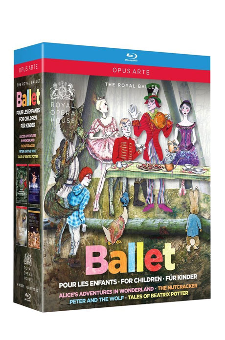 BALLET FOR CHILDREN/ ROYAL BALLET [로얄 발레의 네 가지 보석: 이상한 나라의 앨리스, 호두까기 인형, 피터와 늑대, 베아트릭스 포터 이야기]