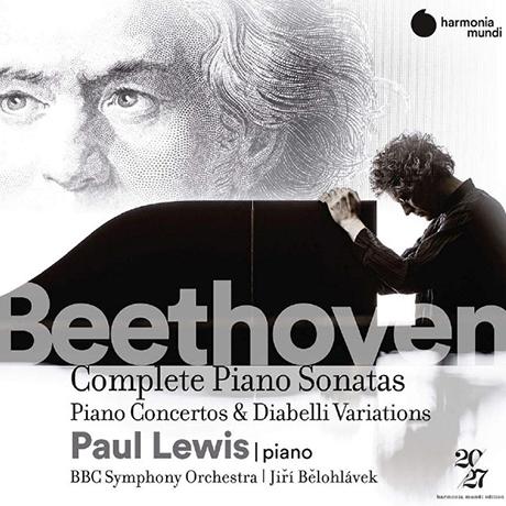 COMPLETE PIANO SONATAS, CONCERTOS & DIABELLI VARIATIONS/ PAUL LEWIS, JIRI BELOHLAVEK [베토벤: 피아노 소나타 & 협주곡 전곡, 디아벨리 변주곡 - 폴 루이스]