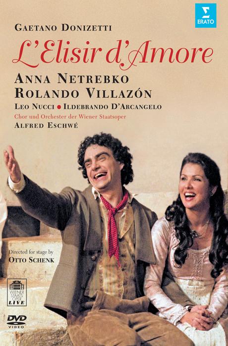 L`ELISIR D`AMORE/ ANNA NETREBKO, ROLANDO VILLAZON, ALFRED ESCHWE [도니제티: 사랑의 묘약]