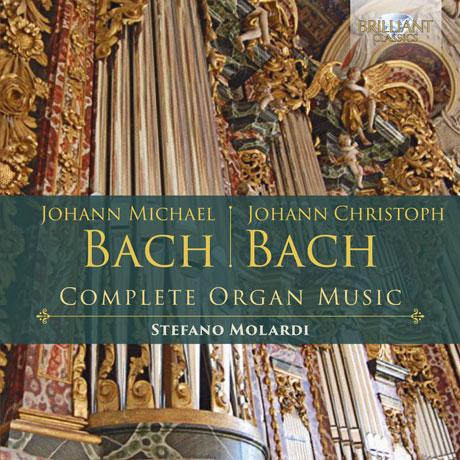 COMPLETE ORGAN MUSIC/ STEFANO MOLARDI [J.M. 바흐 & J.C. 바흐: 오르간 작품 전곡집]