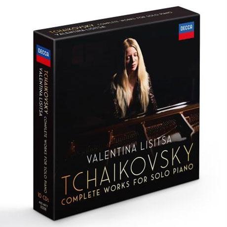 COMPLETE WORKS FOR SOLO PIANO/ VALENTINA LISITSA [차이코프스키: 피아노 솔로 전곡 - 발렌티나 리시차]