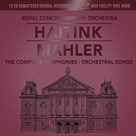 THE SYMPHONIES & SONG CYCLES/ BERNARD HAITINK [12CD+1BDA] [말러: 교향곡 전곡 - 하이팅크, RCO] [한정반]