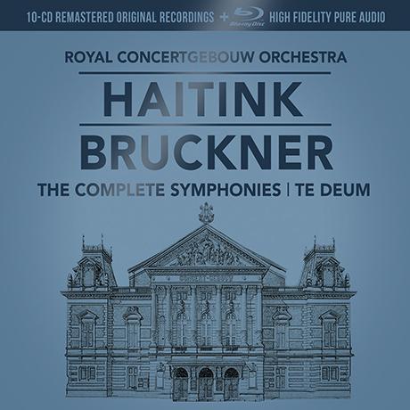 THE SYMPHONIES/ BERNARD HAITINK [10CD+1BDA] [브루크너: 교향곡 전곡 - 하이팅크, RCO] [한정반]