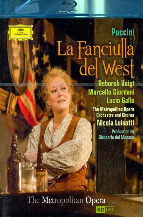 LA FANCIULLA DEL WEST/ NICOLA LUISOTTI [푸치니: 서부의 아가씨] [블루레이 전용플레이어 사용]