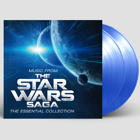 MUSIC FROM THE STAR WARS: SAGA - THE ESSENTIAL COLLECTION [스타워즈 사가: 에센셜 컬렉션] [180G TRANSPARENT BLUE LP] [한정반]