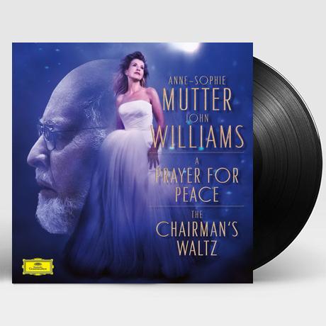 "A PRAYER FOR PEACE, THE CHAIRMAN`S WALTZ/ ANNE-SOPHIE MUTTER [존 윌리엄스: 작품집 - 무터] [7"" SINGLE LP]"
