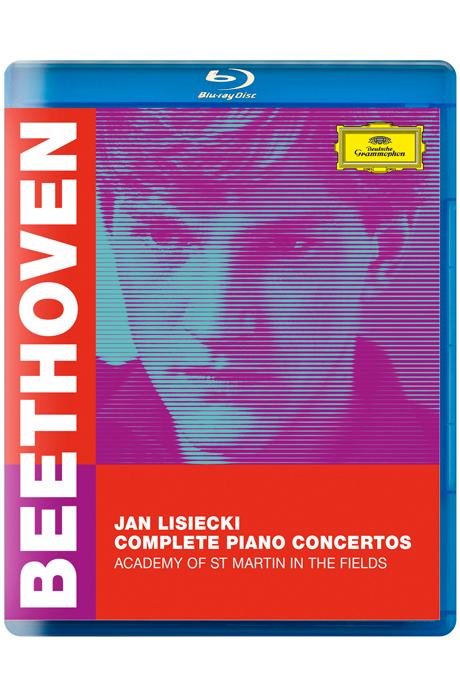 COMPLETE PIANO CONCERTOS/ JAN LISIECKI [베토벤: 피아노 협주곡 전곡 - 세인트 마틴 인 더 필즈 아카데미, 얀 리시에츠키]