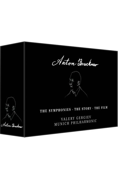 THE SYMPHONIES, THE STORY, THE FILM/ VALERY GERGIEV [6DVD+4BD] [브루크너: 교향곡 전집 - 발레리 게르기에프] [한글자막]