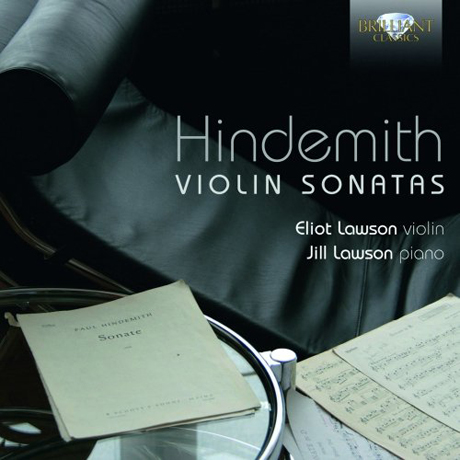VIOLIN SONATAS/ ELIOT LAWSON, JILL LAWSON