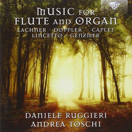 MUSIC FOR FLUTE AND ORGAN/ DANIELE RUGGIERI, ANDREA TOSCHI [플룻과 오르간을 위한 작품집]