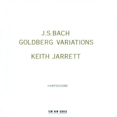 J.S.BACH GOLDBERG VARIATIONS