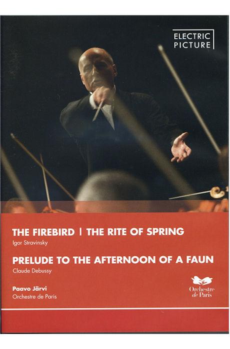 THE FIREBIRD & PRELUDE TO THE AFTERNOON OF A FAUN/ PAAVO JARVI [스트라빈스키: 불새 모음곡/ 드뷔시: 목신의 오후에의 전주곡]