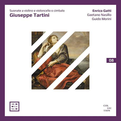 "SUONATE A VIOLINO E VIOLONCELL/ ENRICO GATTI, GUIDO MORINI [타르티니: 바이올린 소나타집 ""버림받은 디도"" 외"