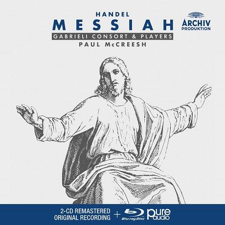 MESSIAH/ PAUL MCCREESH [2CD+BDA] [헨델: 메시아 - 폴 맥크리시]