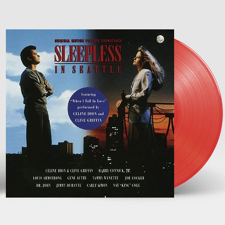 SLEEPLESS IN SEATTLE [시애틀의 잠 못 이루는 밤] [180G RED VALENTINE LP]
