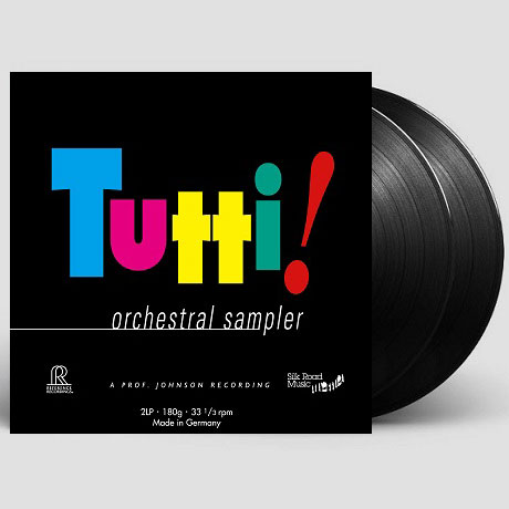 TUTTI! ORCHESTRAL SAMPLER [180G LP]
