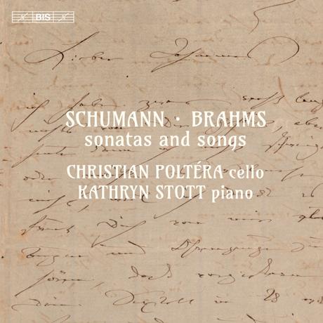 SONATAS AND SONGS/ CHRISTIAN POLTERA,  KATHRYN STOTT [SACD HYBRID] [슈만 & 브람스: 소나타와 가곡 - 크리스찬 폴테라]