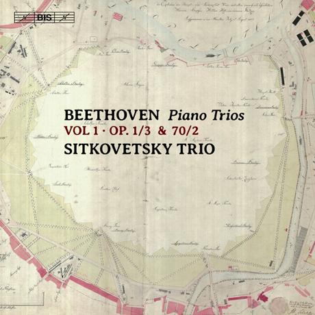 PIANO TRIOS VOL.1/ SITKOVETSKY TRIO [SACD HYBRID] [베토벤: 피아노 트리오 1집 - 시트코베츠키 트리오]