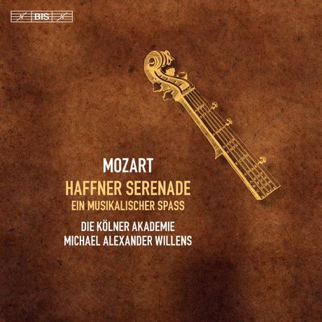 HAFFNER SERENADE & EIN MUSIKALISCHER SPASS/ MICHAEL ALEXANDER WILLENS [SACD HYBRID] [모차르트: 하프너 세레나데, 행진곡, 음악의 희롱]