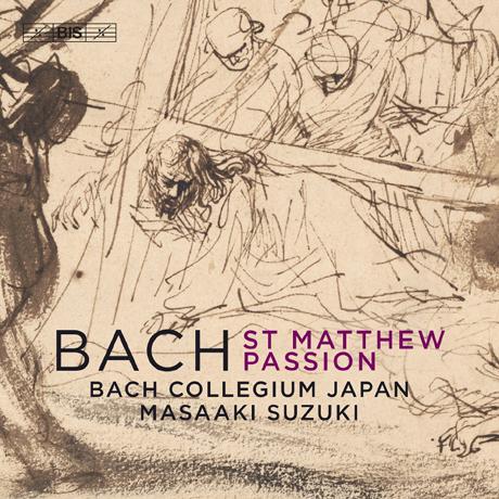 ST MATTHEW PASSION/ BACH COLLEGIUM JAPAN, MASAAKI SUZUKI [SACD HYBRID] [바흐: 마태 수난곡 - 바흐 콜레기움 재팬 합창단, 마사아키 스즈키]