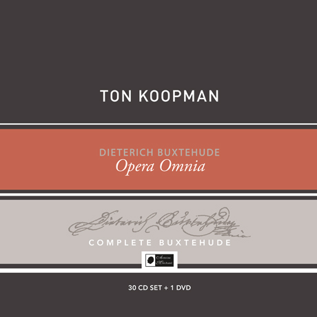 OPERA OMNIA/ TON KOOPMAN [30CD+DVD] [북스테후데: 작품 전집 - 톤 쿠프만]