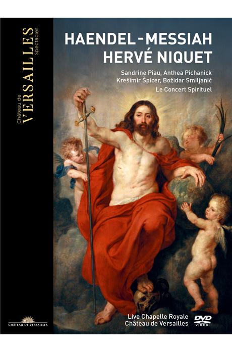 MESSIAH/ HERVE NIQUET [헨델: 메시아 전곡 - 르 콩세르 스피리튀엘, 에르베 니케]