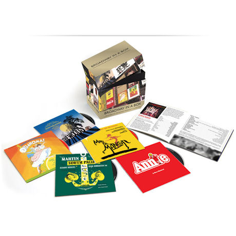 BROADWAY IN A BOX: THE ESSENTIAL BROADWAY MUSICALS COLLECTION [수입 한정반]