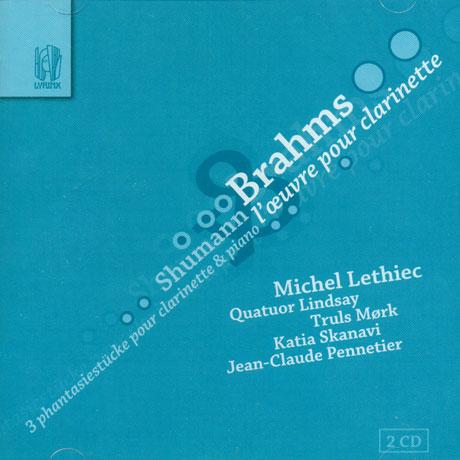 L`OEUVRE POUR CLARINETTE/ MICHEL LETHIEC, QUATUOR LINDSAY