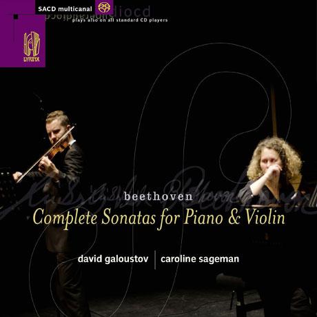 COMPLETE SONATAS FOR PIANO & VIOLIN/ CAROLINE SAGEMAN, DAVID GALOUSTOV [SACD HYBRID]