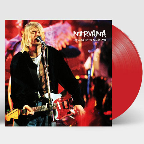 LIVE AT THE PIER 48 SEATTLE 1993 [180G RED LP]