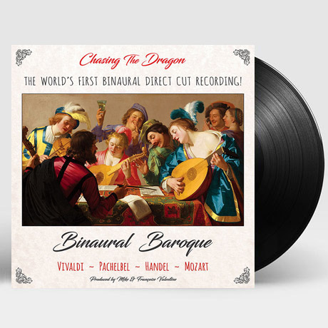 BINAURAL BAROQUE/ LOCRIAN ENSEMBLE OF LONDON [바이노럴 바로크 - 런던 로크리안 앙상블] [BINAURAL RECORDINGS] [180G AUDIOPHILE LP]