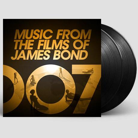 MUSIC FROM THE FILMS OF JAMES BOND [007 제임스 본드 컬렉션] [손글씨 넘버링 한정반] [LP]