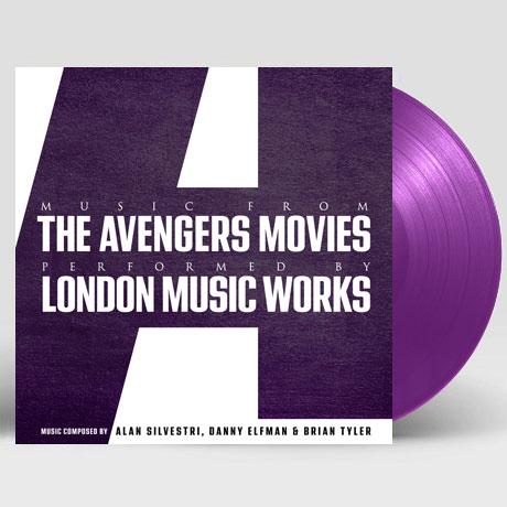 MUSIC FROM THE AVENGERS MOVIES [어벤져스 컬렉션] [PURPLE LP]