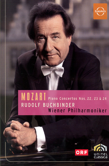 모차르트: 피아노 협주곡 22,23 & 24/ 루돌프 부흐빈더 [MOZART: PIANO CONCERTOS NOS.22,23 & 24/ RUDOLF BUCHBINDER]