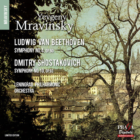 SYMPHONY NO.4 & NO.10/ YEVGENY MRAVINSKY [SACD HYBRID] [베토벤: 교향곡 4번 & 쇼스타코비치: 교향곡 10번]